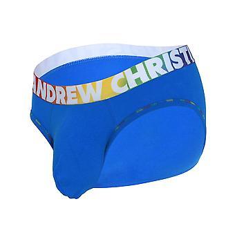 Andrew Christian Almost Naked Cotton Pride Letter | Men's Underwear | Men's Slip