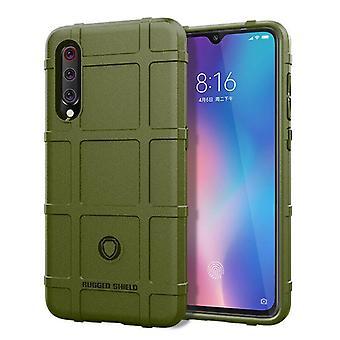 Tpu carbon fibre case for xiaomi 9t pro green mfkj-1394