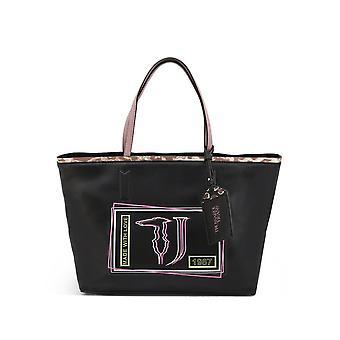 Trussardi -BRANDS - Taschen - Shopper - LIQUIRIZIA-75B00415-99K299 - Damen - black,hotpink