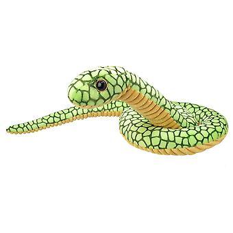 Todo sobre la naturaleza serpiente verde 25cm Felpa