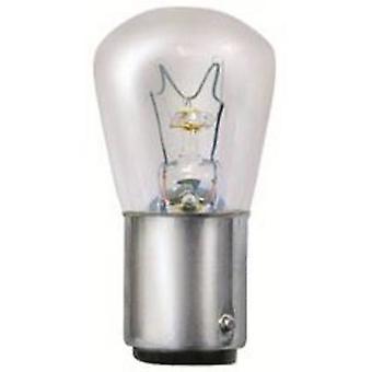 Werma Signaltechnik BA15D 15 W 230 V Alarm sounder light bulb Suitable for (signal processing) Indicator light 826