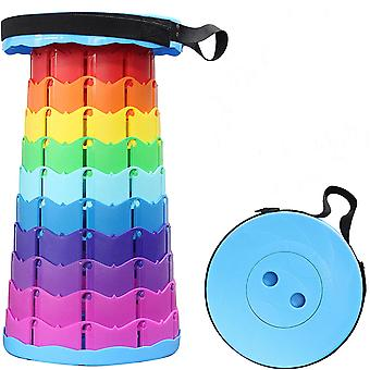 Telescoping Stool Collapsible Portable Retractable Folding Color