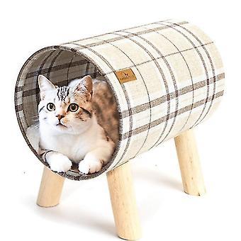 Katze Hängematte Bett, erhöhte Haustier Bett atmungsaktive hängende Nest mit abnehmbaren Abdeckung