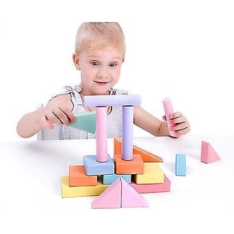 Plăci magnetice Blocuri jucării pentru copii 3d Creative Castle de constructii