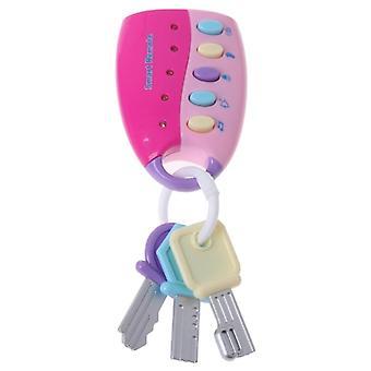 Baby Musical Car Key Toy, Inteligentny pilot, Głosy Udawać Play Edukacja
