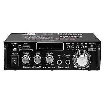 BT-298A 12V 220V ακουστικός ακουστικός στερεοφωνικός ενισχυτής δύναμης HIFI bluetooth FM ραδιόφωνο 2CH 600W