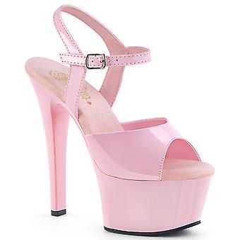 Pleaser Damen's Schuhe ASPIRE-609 B. Pink Pat/B. Pink