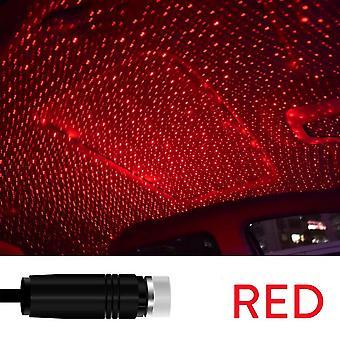 Usb-käyttöinen galaxy tähti projektori lamppu romanttinen led tähtitaivas yövalo auton katon kotihuoneen katto sisustus pistoke ja pelata