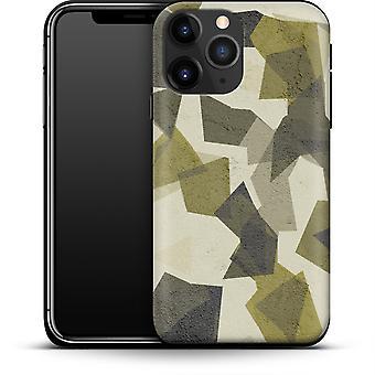 Geometrische Camo Grün durch abtrierbare Designs Smartphone Premium Case Apple iPhone 12 Mini