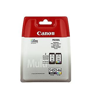 Originele inkt cartridge (set van 2) Canon PG-545/CL-546 Tricolour zwart