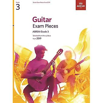 Gitarr-examen bitar från 2019, ABRSM grad 3