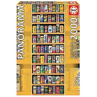 Educa Soft Drink Cans Jigsaw Puzzle - 2000 Piece