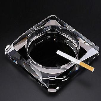 منفضة سجائر ktv بار منفضة سجائر الكريستال المنزلية التدخين علبة الرماد منفضة سجائر جميلة