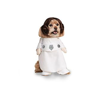 Dog apparel princess leia pet costume - xl