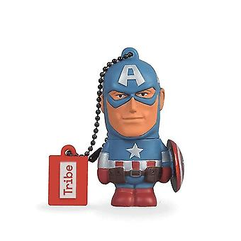 Cache memory disney marvel avengers captain america usb stick 16gb pen drive usb memory stick flash drive  christmas gift