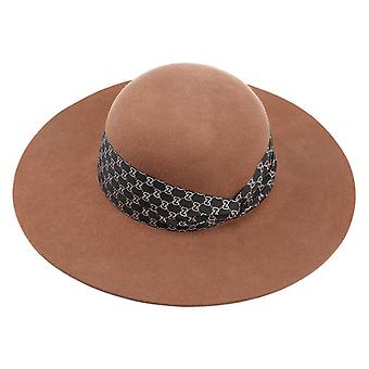 Outono e Onda de Inverno Borda Grande Eaves Chapéu Infantil De Lã Top Hat Chapéu Chapéu Ao Ar Livre Chapéu de Sombra