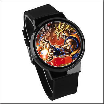Waterproof Luminous Led Digital Touch Watch - Dragon Ball