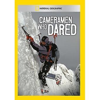 Cameramannen Who Dared [DVD] USA import
