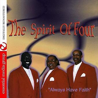Henki, neljä - aina on Faith [CD] Yhdysvallat tuoda