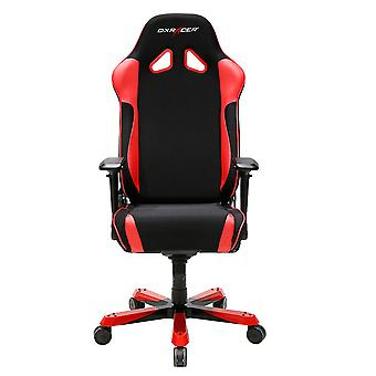 DX Racer DXRacer OH/SJ11/NR High-Back Gaming Chair Strong Mesh+PU Boss Office Chair(Black/Red)
