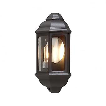Konstsmide Cagliari Antique Wall Light Matt Black