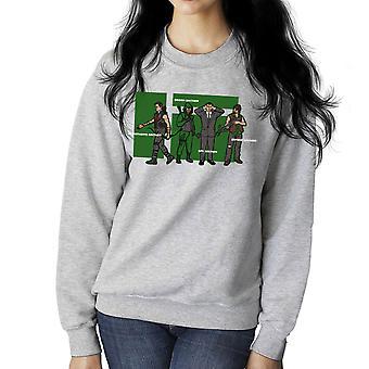 Archer Confusion Superhero Green Spy Zombie Women's Sweatshirt