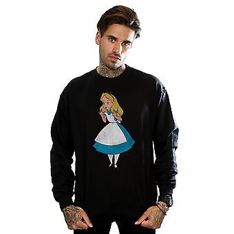 Disney Men's Alice In Wonderland Classic Alice Sweatshirt