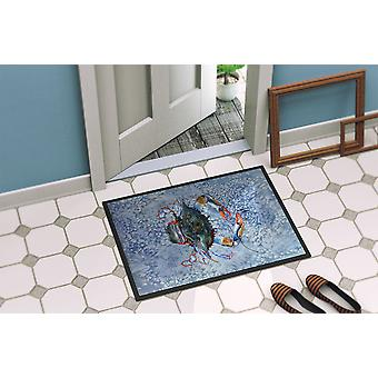 Carolines Treasures  8149-MAT Crab  Indoor or Outdoor Mat 18x27 8149 Doormat