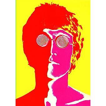 Джон Леннон Psyc Плакат Плакат Печать