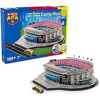 Barcelona Camp Nou fodbold stadion 3D puslespil