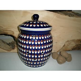 Kartoffeltopf, 5 Liter, 30 cm hoch, Ø 18 cm, Tradition 60, Bunzlau Keramik - BSN 40016