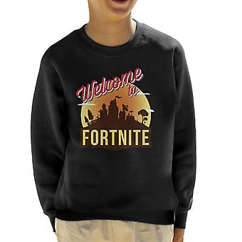 Willkommen bei Fortnite Kid's Sweatshirt