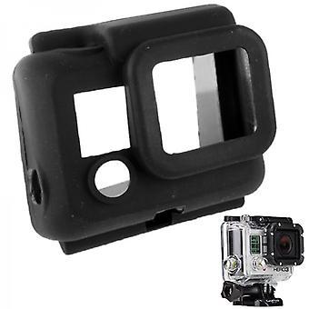 Proteção de silicone para GoPro Hero 3 preto