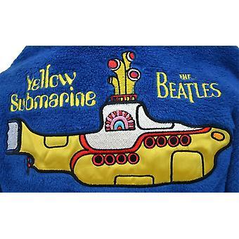 ビートルズ黄色潜水艦子供ガウン/バスローブ N 男の子女の子