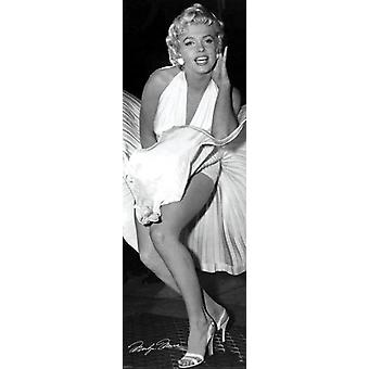 Marilyn Monroe - Seven Year Itch Poster Poster stampa da Matthew Zimmerman