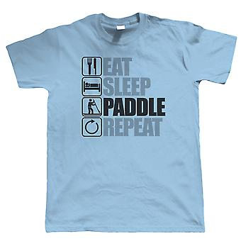 Comer Sleep Paddle Board, Mens T Shirt - Boarding Equipment Gift Pai Dele Pais