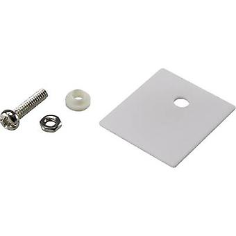 SCI A18-10C Semiconductor mounting set (L x W) 25 mm x 22 mm Suitable for TO 218 1 Set