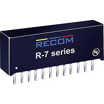 RECOM R-745.0 P DC/DC omvandlare (tryck) 5 V DC 4 A 20 W No. av utgångar: 1 x