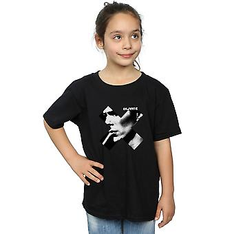 David Bowie chicas Cross camiseta humo