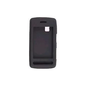 Wireless Solutions Silicon Gel Case for LG Vu CU915, CU920 (Black)