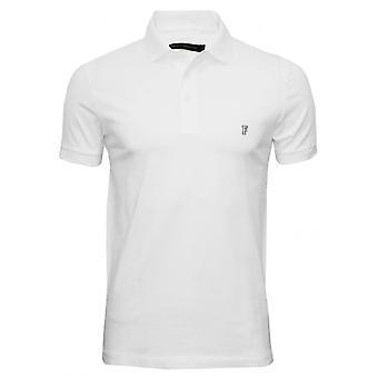 Ranskan yhteys Classic Jersey Polo-paita, valkoinen