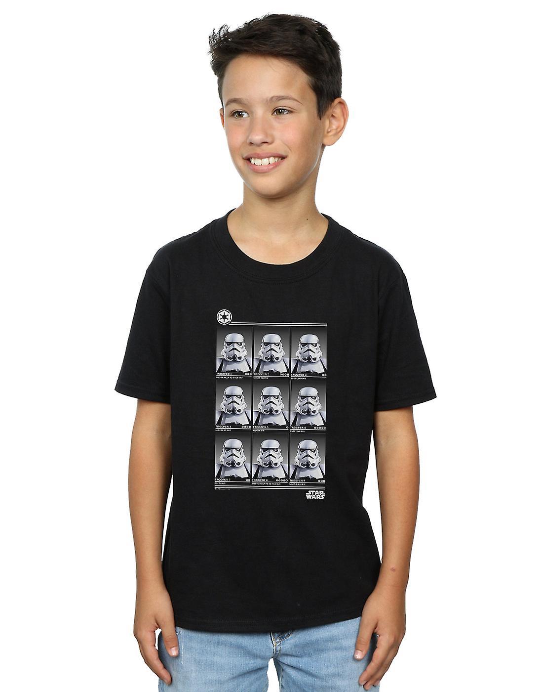 Star Wars Boys Stormtrooper Yearbook T-Shirt