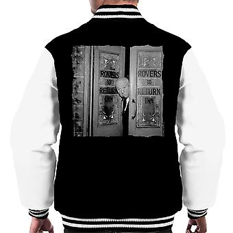 TV Times Alfred Hitchcock At The Rovers Return 1964 Men's Varsity Jacket