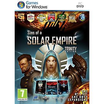 Solar Empiren synnit - Trinity Edition (PC DVD) - Uusi