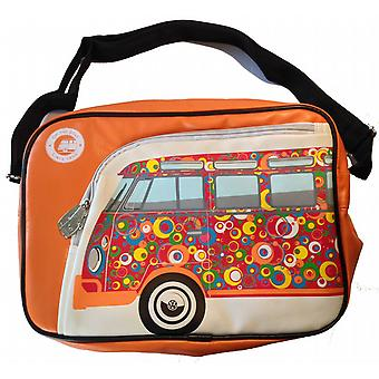 Offisielle VW Bobil Van Retro Messenger skulder Bag - oransje