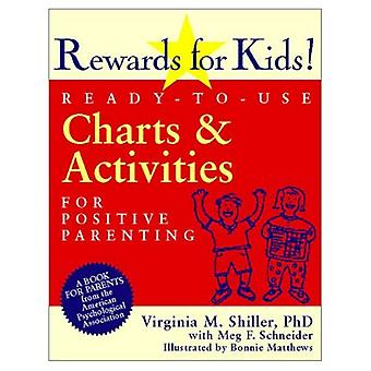 Rewards for Kids!: Ready-to-use Charts and Activities for Positive Parenting [Illustrated]
