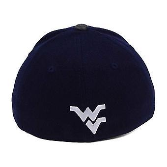 West Virginia bjergbestigere NCAA blår Post Stretch monteret Hat