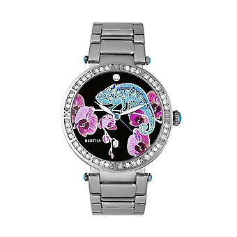 Bertha Camilla Mother-Of-Pearl Bracelet Watch - Silver
