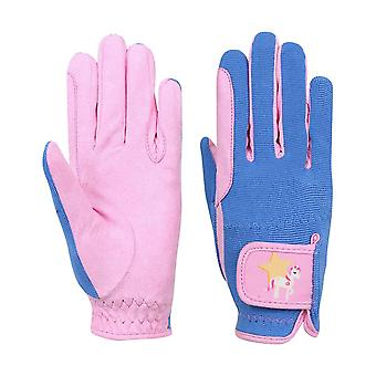 Little Rider Childrens/Kids Star in Show Riding Gloves