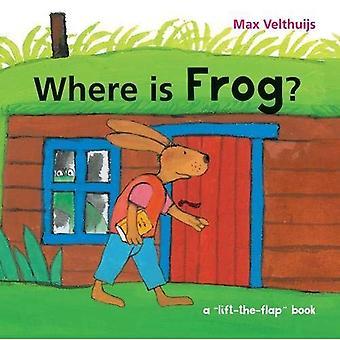Waar is kikker? [Board boek]